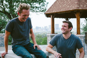 "Photo - Joshua Millburn, left, and Ryan Nicodemus are coming to Full Circle Bookstore this week to promote their book, ""Everything That Remains."" The pair are known worldwide as The Minimalists, due to their blog of the same name. <strong> - Provided</strong>"