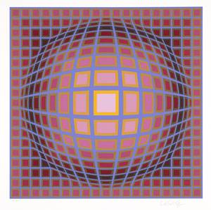 "Photo - ""Titan C"" by Victor Vasarely   Photo provided <strong>Photo provided</strong>"