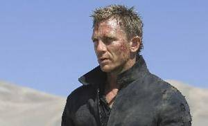 "Photo -  In this file image released by Sony Pictures, Daniel Craig stars as James Bond 007 in pursuit of an Mi6 traitor in a scene from "" Quantum of  Solace."" Along with sports cars, gadgets and sex appeal, an impeccable sense of style is a hallmark of the now 46-year-old James Bond movie franchise, which expands to 22 films with the release of "" Quantum of  Solace."" (AP Photo/Sony Pictures, FILE)"