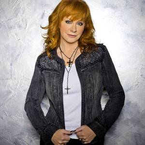 Photo -  Reba McEntire  wears an embellished denim jacket from the Reba line. Photo provided. <strong></strong>