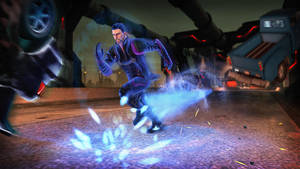 "Photo - This undated publicity photo released by Deep Silver/Volition Inc. shows a scene from the video game, ""Saints Row IV."" (AP Photo/Deep Silver/Volition Inc.)"