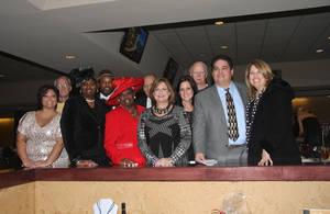Photo - Morgan Carter. Dr. Ivan Holmes, Brenda Mukes, De'Ion Mukes, Velma Jones, James Baggett, Angie Rolke, Monica Schornick, Jon Hansen, Mannix D. Barnes, Teresa Marek. PHOTO PROVIDED  <strong></strong>