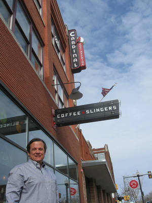 "Photo - Steve Mason, who founded Cardinal Engineering 25 years ago, has sold the firm and is preparing to start his ""second chapter,"" which will include continued redevelopment of downtown-area properties. <strong>Steve Lackmeyer</strong>"
