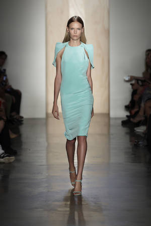 Photo -   In this photo provided by Cushnie et Ochs , the Cushnie et Ochs Spring 2013 collection is modeled during Fashion Week in New York, Friday, Sept. 7, 2012. (AP Photo/Cushnie et Ochs,Thomas Kletecka)