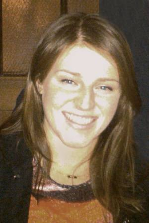 Photo -   This undated family photo shows Meg Theriault, 21, a Boston University student injured in a crash in New Zealand on Saturday morning, May 12, 2012. Theriault was in intensive care Sunday at Waikato Hospital in New Zealand after surgery the previous day for her injuries. Three students were killed and four others were injured when their minivan rolled over on their way to walk the Tongariro Crossing. (AP Photo/Theriault Famly)