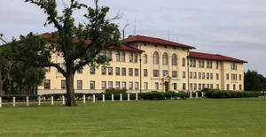 Photo - McNair Hall is seen at Fort Sill in southwestern Oklahoma. Post officials say recent high-profile arrests of soldiers there were unusual and don't point to a larger problem or trend. Photo by Jim Beckel, The Oklahoman Archives