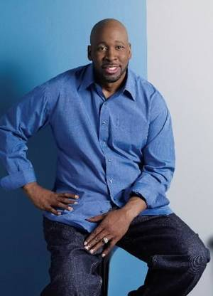Photo - This 2008 file photo provided by Rendevous Entertainment shows  Wayman  Tisdale posing in the Hollywood section of Los Angeles, Calif.  Tisdale, a three-time All-American at Oklahoma who played 12 seasons in the NBA, has died after a two-year battle with cancer. He was 44. (AP Photo/Rendevous Entertainment, HO, File)