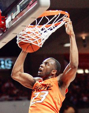 Photo - OSU's James Anderson earned Big 12 Player of the Year honors. Photo by Steve Sisney, The Oklahoman