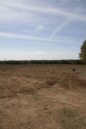 Photo - Contractors removed abandoned oil tanks during a recent Oklahoma Energy Resources Board restoration. This open field will provide a new grazing area for the cattle owned by Osage County residents Earl and Dorothy Fink. <strong> - provided</strong>