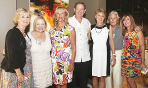 Photo - Terry Sinclair, Christa Chain, Cindy and Mike Biddinger, Helen Dailey, Steve and Cathy Haggard.