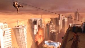 "Photo -   This video game image released by 2K Games, American commandos explore a ruined Dubai in ""Spec Ops: The Line."" (AP Photo/2K Games)"