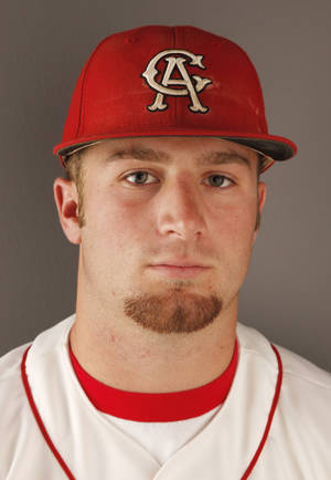 photo - HIGH SCHOOL BASEBALL: Taylor Hawkins, Carl Albert, 2012 All-State and All-City Baseball Player of the Year at the OPUBCO studio Tuesday, June 5, 2012. Photo by Doug Hoke, The Oklahoman