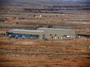 Photo - Devon Energy Corp.'s enhanced oil recovery facility at Beaver Creek has been in operation in Wyoming since 2008. Photo provided