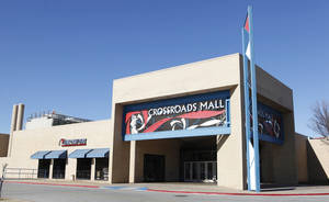 Photo - The purchase of Crossroads Mall was the most significant of just eight retail property investment sales in Oklahoma City in 2011, according to Price Edwards & Co. Mike Dillard and Roddy Bates, owners of Raptor Properties LLC, paid $3.5 million for the long-struggling mall at Interstate 35 and I-240 in September. <strong>PAUL B. SOUTHERLAND - The Oklahoman</strong>