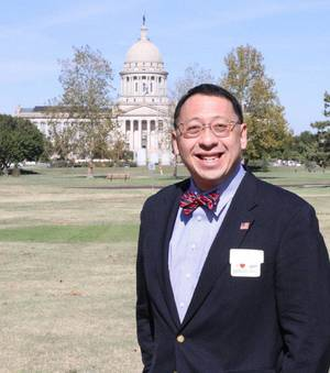 photo - Frank Y.H. Wang has been installed as the president of the Oklahoma School of Science and Mathematics. Photo provided