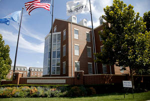 Photo - Chesapeake Energy Corp. campus is seen Tuesday in Oklahoma City. Photo by Bryan Terry, The Oklahoman