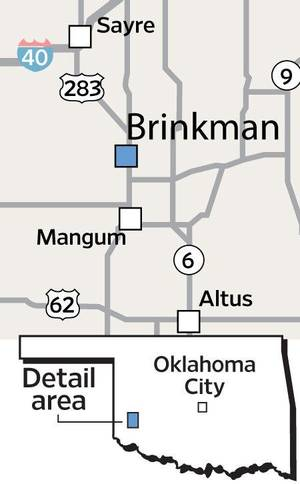 photo - Brinkman locator map <strong></strong>
