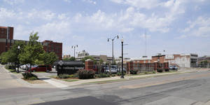 Photo -  View of St. Anthony Hospital property where expansion will take place is seen Wednesday in Oklahoma City. Photo by Doug Hoke, The Oklahoman  <strong>DOUG HOKE -  THE OKLAHOMAN </strong>