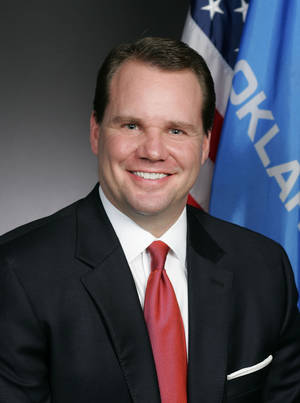 photo - Lt. Gov. Todd Lamb He will lead the Oklahoma Commission on School Security.