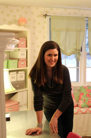 Photo - Elise Hindeland has created her own room in her home in Grosse Pointe Park, Mich. She calls it her craft-wrapping room.  McCLATCHY-TRIBUNE PHOTO
