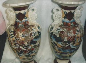 Photo -  Satsuma-ware was made in Japan. Photo provided  <strong></strong>