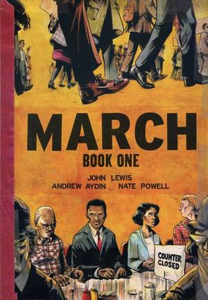 "Photo - ""March: Book One."" Top Shelf Productions. <strong></strong>"