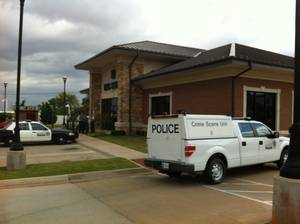 photo - About 9:45 a.m. Wednesday the IBC Bank at 4902 N Western Ave. was robbed.