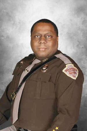 Photo - Trooper Sheldon Robinson, 45, is a 16-year veteran of the Oklahoma Highway Patrol. PHOTO PROVIDED <strong>PROVIDED</strong>