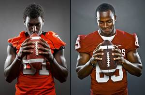 photo - Justin Blackmon and Ryan Broyles
