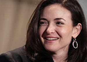 photo - FILE - In this Thursday, April 7, 2011, file photo, Sheryl Sandberg, Facebook's chief operating officer, speaks at a luncheon for the American Society of News Editors in San Diego. (AP Photo/Gregory Bull, File)