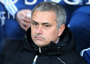 Photo - Chelsea's manager Jose Mourinho looks on ahead of their English Premier League soccer match against Hull City at the KC Stadium, Hull, England, Saturday, Jan. 11, 2014. (AP Photo/Scott Heppell)
