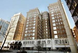 Photo - A tax dispute has led to court action between majority and minority owners of the Skirvin Hilton Hotel in downtown Oklahoma City. <strong></strong>