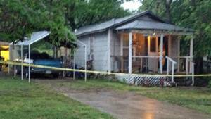 Photo - A man was found shot to death at this residence by Bartlesville police. (Bartlesville Examiner-Enterprise photo)