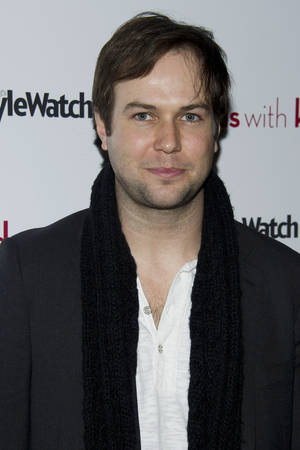 "Photo -   FILE - Taran Killam attends a screening of ""Friends with Kids"" hosted by the Cinema Society in New York, in this March 5, 2012 file photo. Killam appeared in a sketch Saturday Sept. 15, 2012 as Ryan, attempting to clarify his past athletic achievements. (AP Photo/Charles Sykes, File)"