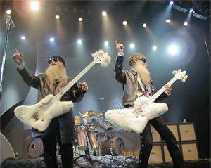 Photo - ZZ Top, from left, Dusty Hill, Frank Beard and Billy Gibbons, will headline the revamped Rocklahoma music festival in Pryor. PHOTO PROVIDED BY Bill Narum
