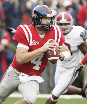 Photo - Mississippi quarterback Jevan Snead has won 17 games as a starter over the past two seasons. AP PHOTO