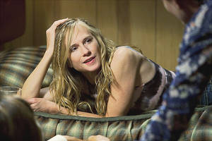 "Holly Hunter wraps up her role as Okahoma City police detective Grace Hanadarko in back-to-back episodes tonight of ""Saving Grace"" on TNT. TNT PHOTO"