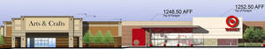 Photo - Target is under construction first at Lawton Marketplace.