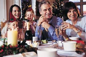 Photo - Holiday dinners can be rife with family conflicts. Thinkstock photo. <strong></strong>