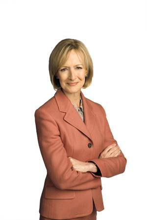Photo - PBS Newshour's Judy Woodruff. PHOTO PROVIDED. <strong></strong>