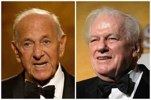 Photo - Jack Klugman, left, and Charles Durning, both died Monday: Klugman at 90 in Los Angeles, Durning at 89 in New York, AP File Photos <strong>Uncredited</strong>