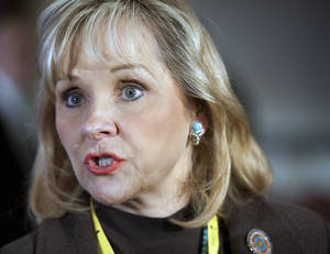 photo - Oklahoma Gov. Mary Fallin. AP file photo