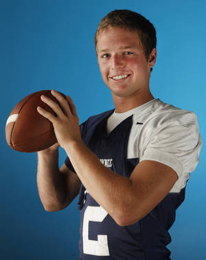 photo - HIGH SCHOOL FOOTBALL: Shawnee's Brayle Brown in Oklahoma City, Oklahoma June 15 , 2010. Photo by Steve Gooch, The Oklahoman ORG XMIT: KOD