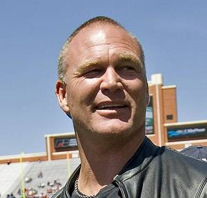 photo - Brian Bosworth Former OU linebacker