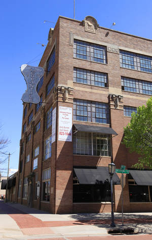 Photo -      The Mideke Building at Main and Oklahoma in Bricktown is set to become the headquarters of Tapstone Energy. Photo by Paul B. Southerland, The Oklahoman  <strong>PAUL B. SOUTHERLAND -  PAUL B. SOUTHERLAND </strong>