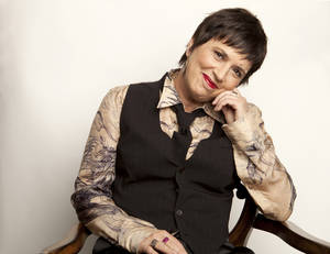 Photo -   This Nov. 8, 2012 photo shows American playwright and Broadway producer Eve Ensler posing for a portrait in New York. (Photo by Amy Sussman/Invision/AP)