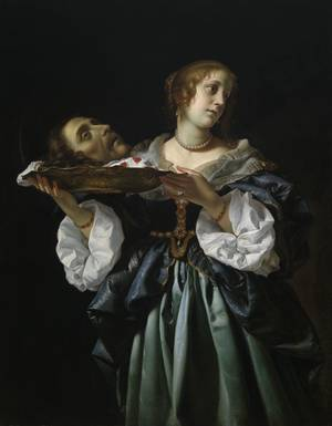 "Photo - ""Salome,"" circa 1681-85, by Carlo Dolci, is featured in the exhibit ""Of Heaven and Earth: 500 Years of Italian Painting from Glasgow Museums"" at the Oklahoma City Museum of Art. PHOTO PROVIDED <strong>PROVIDED</strong>"