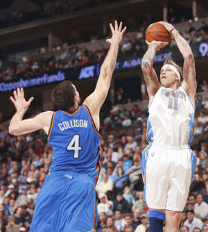 Photo - Denver forward Chris Andersen scored 15 points and grabbed 11 rebounds Monday.  AP PHOTO