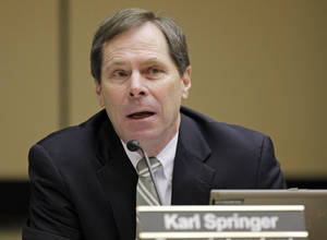 Photo - Karl Springer, Oklahoma City schools superintendent