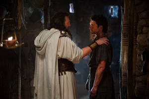 "Photo - From left, Liam Neeson stars as Zeus and Sam Worthington as Perseus in the sequel ""Wrath of the Titans."" Warner Bros. Pictures photo. <strong>Jay Maidment - Jay Maidment</strong>"